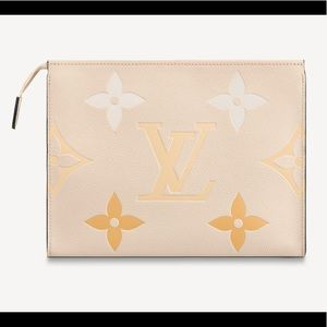 Auth Louis Vuitton NEW pochette 26 summer 2021